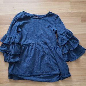Flowy pirate blouse
